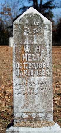 HELM, W. H. - Searcy County, Arkansas | W. H. HELM - Arkansas Gravestone Photos