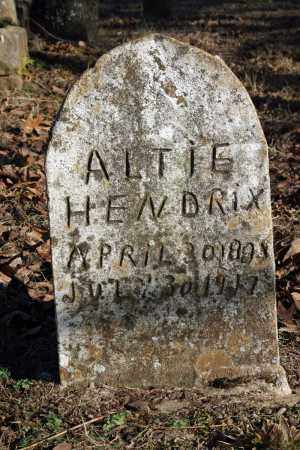 HENDRIX, ALTIE - Searcy County, Arkansas | ALTIE HENDRIX - Arkansas Gravestone Photos