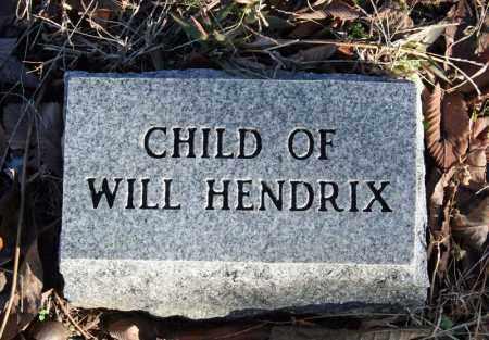 HENDRIX, CHILD 1 - Searcy County, Arkansas   CHILD 1 HENDRIX - Arkansas Gravestone Photos