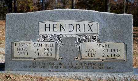 HENDRIX, EUGENE CAMPBELL - Searcy County, Arkansas | EUGENE CAMPBELL HENDRIX - Arkansas Gravestone Photos