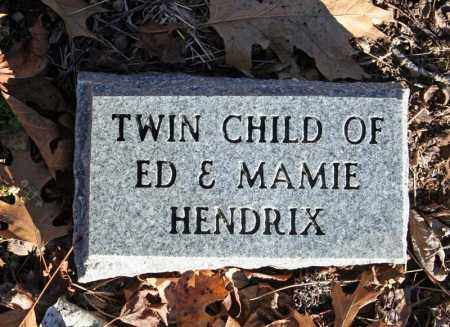 HENDRIX, INFANT TWIN 2 - Searcy County, Arkansas | INFANT TWIN 2 HENDRIX - Arkansas Gravestone Photos