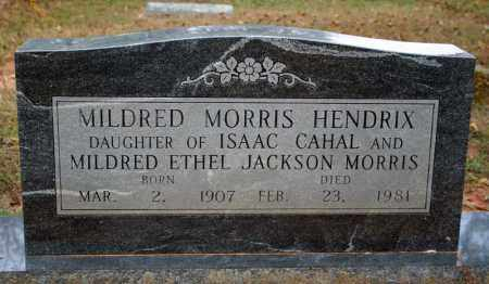 MORRIS HENDRIX, MILDRED - Searcy County, Arkansas | MILDRED MORRIS HENDRIX - Arkansas Gravestone Photos