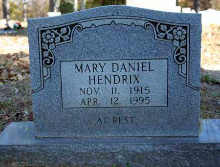 DANIEL HENDRIX, MARY - Searcy County, Arkansas | MARY DANIEL HENDRIX - Arkansas Gravestone Photos