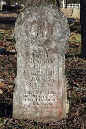 HAYS HENDRIX, MARY - Searcy County, Arkansas | MARY HAYS HENDRIX - Arkansas Gravestone Photos