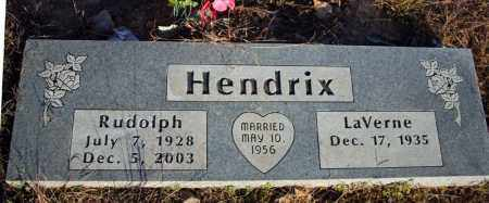 "HENDRIX, RUDOLPH JEWELL ""RUDY"" - Searcy County, Arkansas 