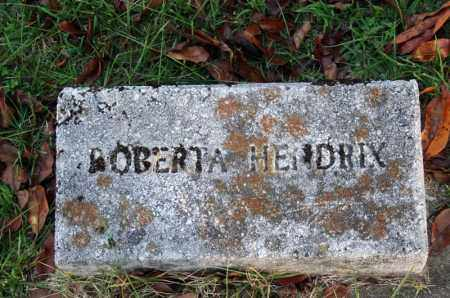 HENDRIX, ROBERTA - Searcy County, Arkansas | ROBERTA HENDRIX - Arkansas Gravestone Photos
