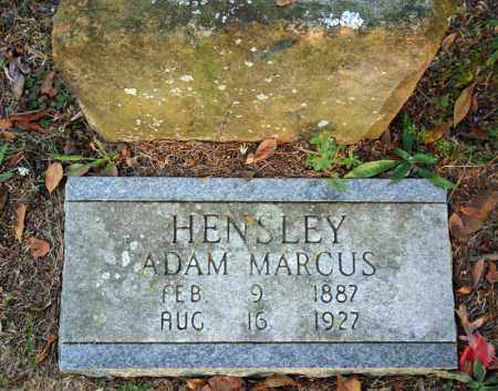 HENSLEY, ADAM MARCUS - Searcy County, Arkansas | ADAM MARCUS HENSLEY - Arkansas Gravestone Photos