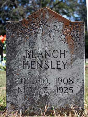 HENSLEY, BLANCH - Searcy County, Arkansas | BLANCH HENSLEY - Arkansas Gravestone Photos