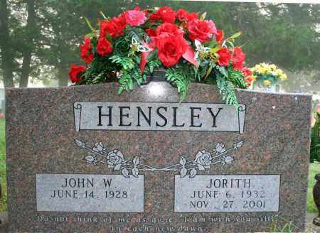 WEAVER HENSLEY, JORITH - Searcy County, Arkansas | JORITH WEAVER HENSLEY - Arkansas Gravestone Photos