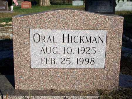 HICKMAN, ORAL - Searcy County, Arkansas | ORAL HICKMAN - Arkansas Gravestone Photos