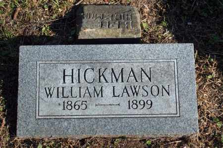 HICKMAN, WILLIAM LAWSON - Searcy County, Arkansas | WILLIAM LAWSON HICKMAN - Arkansas Gravestone Photos