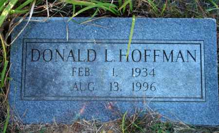 HOFFMAN, DONALD L. - Searcy County, Arkansas | DONALD L. HOFFMAN - Arkansas Gravestone Photos