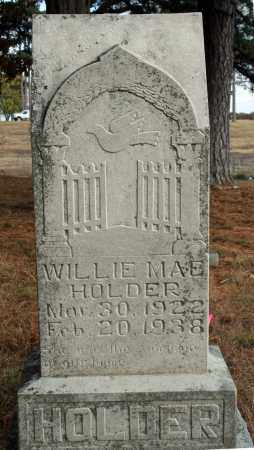 HOLDER, WILLIE MAE - Searcy County, Arkansas | WILLIE MAE HOLDER - Arkansas Gravestone Photos