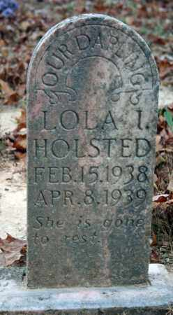HOLSTED, LOLA I. - Searcy County, Arkansas | LOLA I. HOLSTED - Arkansas Gravestone Photos