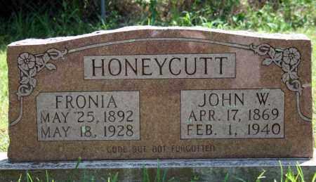 HONEYCUTT, FRONIA - Searcy County, Arkansas | FRONIA HONEYCUTT - Arkansas Gravestone Photos