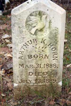 HORN, ARTHUR K. - Searcy County, Arkansas | ARTHUR K. HORN - Arkansas Gravestone Photos