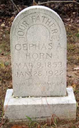 HORN, CEPHAS A. - Searcy County, Arkansas | CEPHAS A. HORN - Arkansas Gravestone Photos