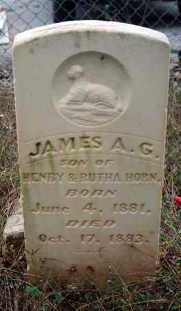 HORN, JAMES A. G. - Searcy County, Arkansas | JAMES A. G. HORN - Arkansas Gravestone Photos