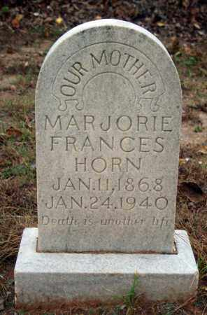 STEPHENSON HORN, MARJORIE FRANCES - Searcy County, Arkansas | MARJORIE FRANCES STEPHENSON HORN - Arkansas Gravestone Photos