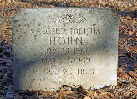 HENDRIX HORN, MARGRET TOBITHA - Searcy County, Arkansas | MARGRET TOBITHA HENDRIX HORN - Arkansas Gravestone Photos