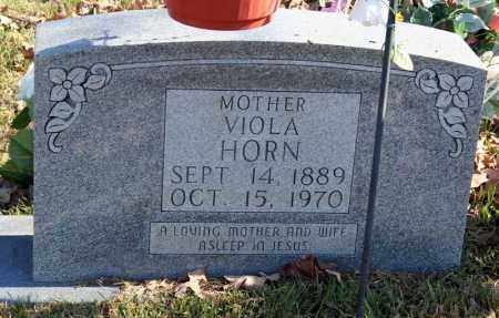 HORN, VIOLA - Searcy County, Arkansas | VIOLA HORN - Arkansas Gravestone Photos