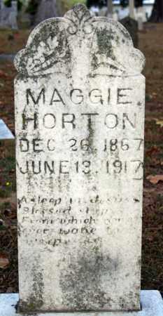 HORTON, MAGGIE - Searcy County, Arkansas | MAGGIE HORTON - Arkansas Gravestone Photos