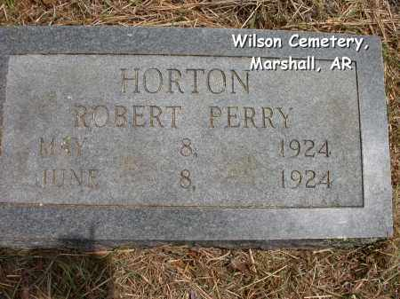 HORTON, ROBERT PERRY - Searcy County, Arkansas | ROBERT PERRY HORTON - Arkansas Gravestone Photos