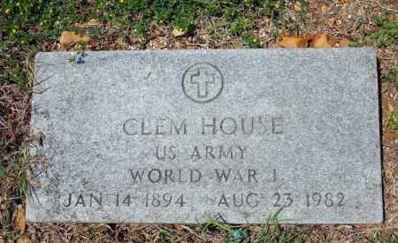 HOUSE (VETERAN WWI), CLEM - Searcy County, Arkansas | CLEM HOUSE (VETERAN WWI) - Arkansas Gravestone Photos