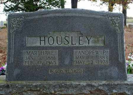 HOUSLEY, ANDREW P. - Searcy County, Arkansas | ANDREW P. HOUSLEY - Arkansas Gravestone Photos