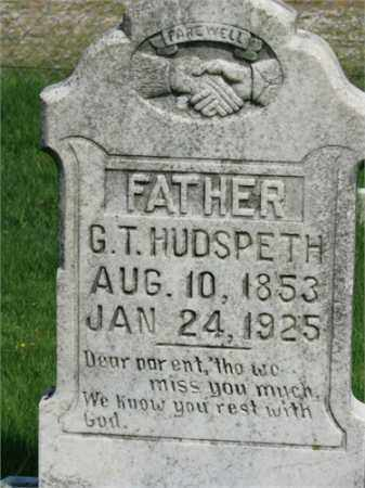 HUDSPETH, G.T. - Searcy County, Arkansas | G.T. HUDSPETH - Arkansas Gravestone Photos