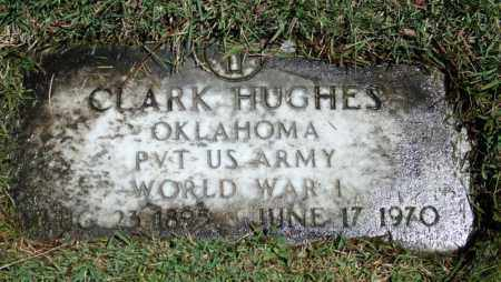 HUGHES (VETERAN WWI), CLARK - Searcy County, Arkansas | CLARK HUGHES (VETERAN WWI) - Arkansas Gravestone Photos