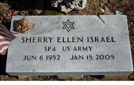 ISRAEL (VETERAN), SHERRY ELLEN - Searcy County, Arkansas | SHERRY ELLEN ISRAEL (VETERAN) - Arkansas Gravestone Photos