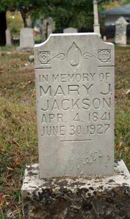 JACKSON, MARY  J. - Searcy County, Arkansas | MARY  J. JACKSON - Arkansas Gravestone Photos