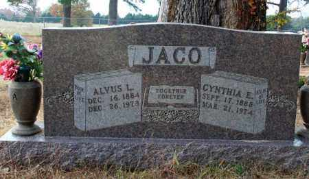 JACO, CYNTHIA E. - Searcy County, Arkansas | CYNTHIA E. JACO - Arkansas Gravestone Photos
