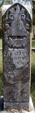 JACO, J. H. - Searcy County, Arkansas | J. H. JACO - Arkansas Gravestone Photos