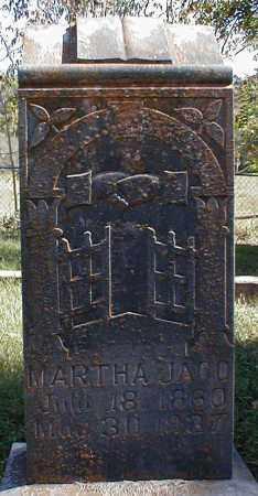 JACO, MARTHA - Searcy County, Arkansas | MARTHA JACO - Arkansas Gravestone Photos