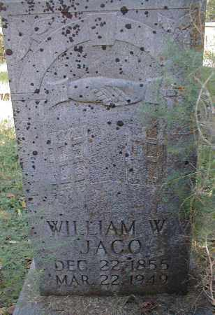 JACO, WILLIAM W. - Searcy County, Arkansas | WILLIAM W. JACO - Arkansas Gravestone Photos