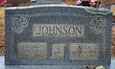 LOFTIN JOHNSON, XULA - Searcy County, Arkansas | XULA LOFTIN JOHNSON - Arkansas Gravestone Photos