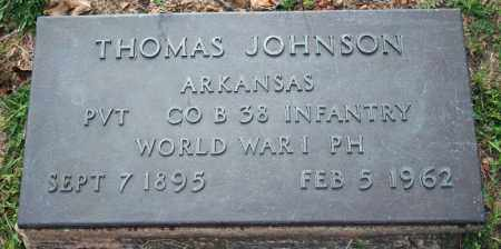 JOHNSON  (VETERAN WWI), THOMAS - Searcy County, Arkansas | THOMAS JOHNSON  (VETERAN WWI) - Arkansas Gravestone Photos