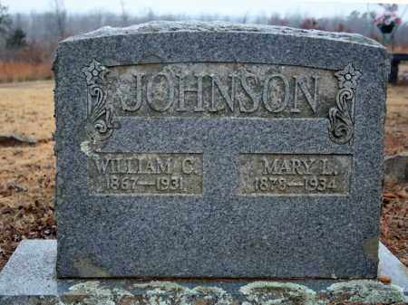 JOHNSON, WILLIAM C. - Searcy County, Arkansas | WILLIAM C. JOHNSON - Arkansas Gravestone Photos
