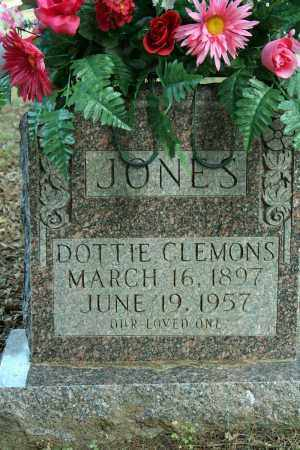 CLEMONS JONES, DOTTIE - Searcy County, Arkansas | DOTTIE CLEMONS JONES - Arkansas Gravestone Photos