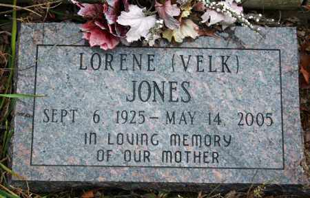 VELK JONES, LORENE - Searcy County, Arkansas | LORENE VELK JONES - Arkansas Gravestone Photos