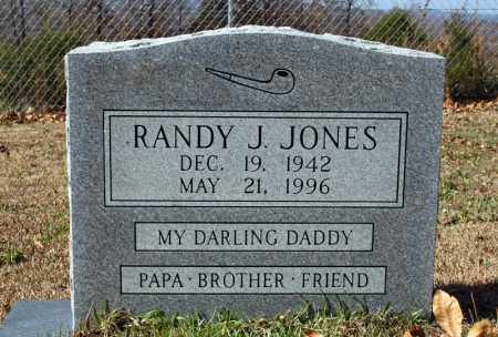 JONES, RANDY J. - Searcy County, Arkansas | RANDY J. JONES - Arkansas Gravestone Photos