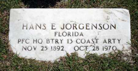 JORGENSON (VETERAN), HANS E. - Searcy County, Arkansas | HANS E. JORGENSON (VETERAN) - Arkansas Gravestone Photos
