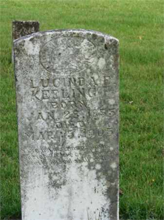 KEELING, LUCINDA - Searcy County, Arkansas | LUCINDA KEELING - Arkansas Gravestone Photos