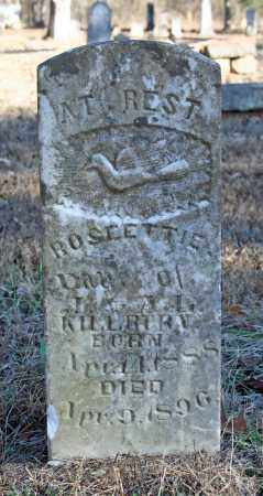 KILLBURN, ROSEETIE - Searcy County, Arkansas | ROSEETIE KILLBURN - Arkansas Gravestone Photos