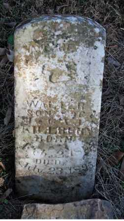 KILLBURN, WALTER - Searcy County, Arkansas | WALTER KILLBURN - Arkansas Gravestone Photos