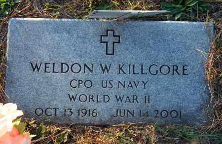 KILLGORE (VETERAN WWII), WELDON W. - Searcy County, Arkansas | WELDON W. KILLGORE (VETERAN WWII) - Arkansas Gravestone Photos