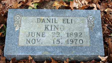 KING, DANIL ELI - Searcy County, Arkansas | DANIL ELI KING - Arkansas Gravestone Photos