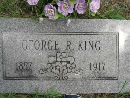 KING, GEORGE  R. - Searcy County, Arkansas | GEORGE  R. KING - Arkansas Gravestone Photos
